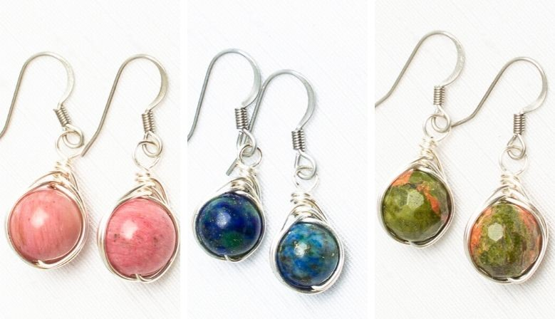 Boucles wire wrapping